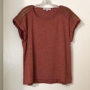 Rose + Olive Short Sleeve Shirt